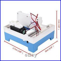 2000mW USB Micro Laser Engraver Engraving Machine Printer Logo Stamp Maker Tool