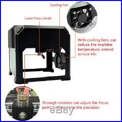 2000mW USB Mini Laser Engraver DIY Logo Mark Printer Cutter Carver Machine Fast
