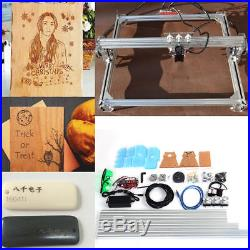 2000mw 65x50cm Desktop Laser Engraver CNC 2-Axis Machine DIY Printing Engraver