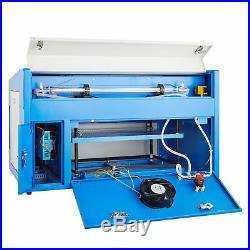 2012 50W Laser Engraver Cutter Engraving Machine CO2 Auxiliary Rotary Device