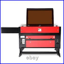 2020 Upgraded 100W 28 x 20 CO2 Laser Engraver Cutter With Rotary Axis Ruida