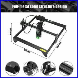 20W 16'' Laser Engraver Cutting Machine for Metal Vinyl Wood Leather Aluminum US