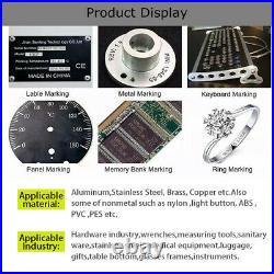 20W Desktop 150X150mm Fiber Laser Marking Engraving Machine for Metal&Non-Metal