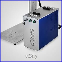 20W Fiber Laser Marking & Engraving Machine Metal Engraver USB Port Printer
