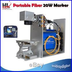 20W Fiber Laser Marking Machine Engraver Metal Engraving For Stainless Steel