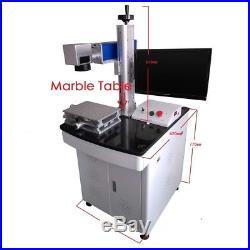 20W Fiber Laser Marking Machine Engraving Stainless Steel Metal FDA CE