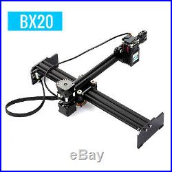 20W High Speed Laser Engraving Machine Desktop Engraver Printer Art Craft DIY