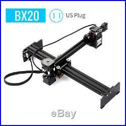 20W Lase r Engraving Machine Desktop Engraver 20000mW Printer Art Craft DIY Q8Q2