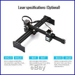 20W Laser Engraving Machine Mini Desktop Engraver Cutter Art Craft DIY Printer