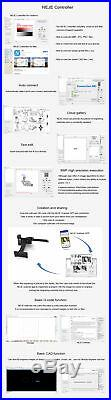 20W Mini Desktop DIY La-ser Engraver Portable Engraving Carving Machine Printer