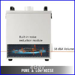 220V 180m³/H Pure Air Fume Extractor Smoke Purifier 80W for Co2 Laser Engraver