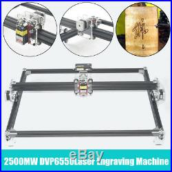 2500MW 65x50cm Laser Engraving Machine Cutting Printer CNC Control LOGO Router