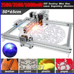 2500MW CNC DIY Desktop Laser Engraving Machine Logo Marking Printer Engraver US