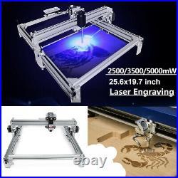 2500MW CNC Desktop Laser Engraving Machine DIY Logo Marking Printer Engraver