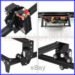 2500MW Mini Laser Cutting Engraving Machine Printer Kit Desktop 450 x 400mm DIY