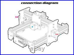 2500mW A3 Pro Laser Engraving Machine CNC Laser Printer EleksLaser-DEVPARKS