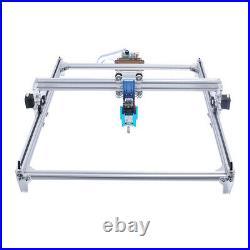 2500mW CNC 2Axis Laser Engraver Metal Marking Machine Wood Cutter 50x40 DIY Kit