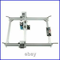 2500mW Mini CNC Laser Engraver Metal Marking Machine Wood Cutter 30x40cm DIY Kit