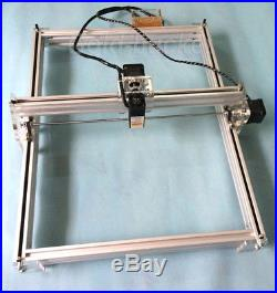 2500mW Mini Laser Engraving Machine Cutter 40X50CM DIY Image Logo Marking Printe