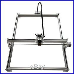 2500mW USB CNC Laser Engraver Wood Marking Engraving Machine 100x100cm DIY Kit