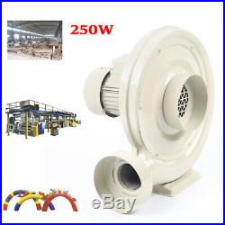 250W Dust/Smoke Exhaust Blower Fan 570m³/h for Laser Engraving Machine USA STOCK