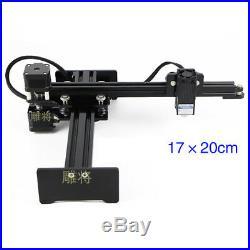 25W DIY Desktop cnc router Metal laser cutter engraving machine Printer Engraver