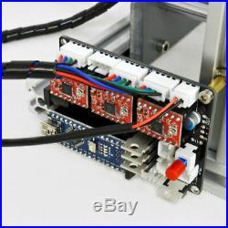 3 Axis CNC Router 2417 Mini Engraving Machine Milling Engraver PCB Metal DIY
