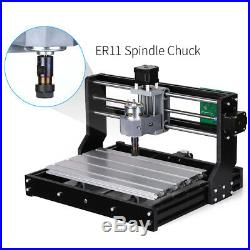 3 Axis CNC3018PRO Router Machine Laser Engraving PCB Milling Wood Carving 2500mW
