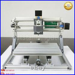 3 Axis DIY CNC 2418 CNC Router PCB Milling Carving Engraving Machine+Laser head