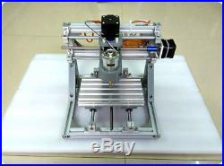 3 Axis Engraver Milling Wood Carving DIY CNC Engraving Machine +500MW Laser Head