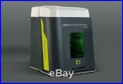 30 watt F30 Fiber Laser Gravograph laser LW2 demo engraving marking machine