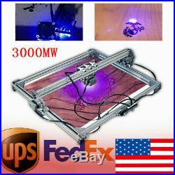 3000MW 65x50cm Laser Engraving Machine Cutting Engraver Desktop Printer Kit DC