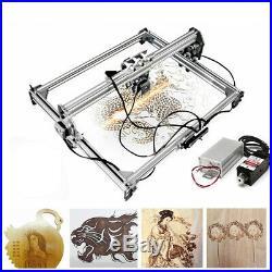 3000MW DIY 50cmx65cm Laser Engraving Engraver Cutting Machine Logo Printer Set