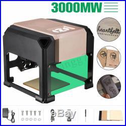 3000MW Desktop Laser Engraving Machine Logo Marking Printer WIN/MacOS System