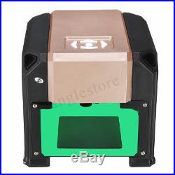 3000MW Desktop Laser Engraving Machine Logo Marking Printer for WIN/MacOS System