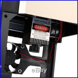 3000MW Laser Engraver Machine Printer Metal DIY Engraving Cutter Cube Desktop
