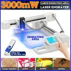 3000mW 155x175mm Offline Laser Engraving Engraver Machine Logo Printer Cutter
