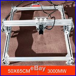 3000mW Desktop Laser Engraver DIY Printer Cutter Carver Engraving Machine