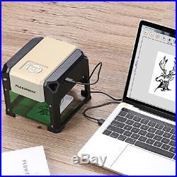 3000mW Desktop Laser Engraving Machine DIY Marking Printer Engraver Cutter USB