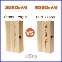 3000mW Laser Engraver Machine USB Desktop CNC Cutter Logo Mark Printer Wood DIY