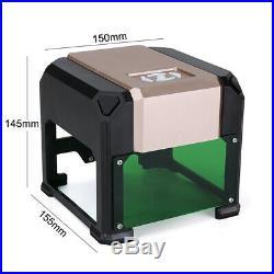3000mW Powered USB Laser Engraver DIY Mark Printer Cutter Logo Carver Engraving