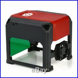 3000mW USB Laser Engraving Machine DIY Logo Marking Printer Engraver Cutting US