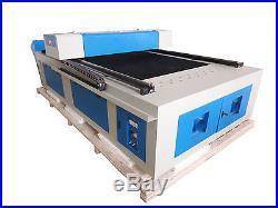 300W HQ1325M CO2 Metal Steel/MDF Plywood Acrylic Laser Cutting Machine/48 feet