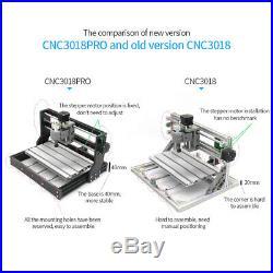 3018 PRO DIY CNC Router 2in1 Laser Engraving Machine 2500mw & ER11 Collet