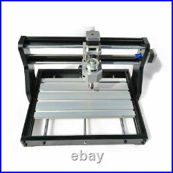 3018PRO CNC Machine 3 Axis Router Engraving PCB Wood DIY Mill+5500mw Laser Head