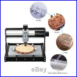 3018PRO DIY CNC Router Laser Engraving Machine GRBL Control 3 Axis 5500mw