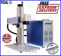 30W Fiber Laser Marking & Engraving Machine for Metal & Non-Metal 110V / 220V