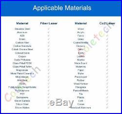30W Fiber Laser Marking Machine Engraving Stainless Steel Metal FDA CE