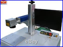30W Fiber Laser Marking Machine Laser engraver for metal & non-metal red dot
