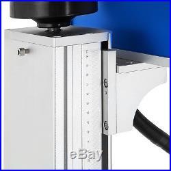 30W Fiber Laser Marking Machine Metal Engraver Engraving Marker Air cooling
